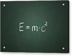 Einsteins Formula Acrylic Print