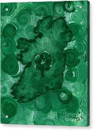 Eire Heart Of Ireland Acrylic Print