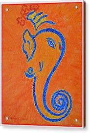 Ekadrishta Acrylic Print by Sonali Gangane
