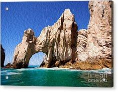 El Arco De Cabo San Lucas I Acrylic Print