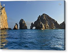 Acrylic Print featuring the photograph El Arco - The Arch - Cabo San Lucas by Christine Till