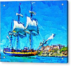 El Barco Acrylic Print