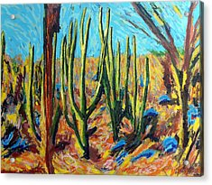 El Bosque Del Desierto Acrylic Print