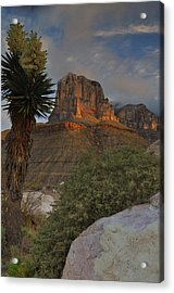 El Capitan At Sunrise Acrylic Print by Stephen  Vecchiotti