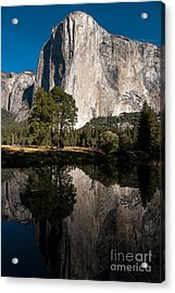 El Capitan In Yosemite 2 Acrylic Print by Terry Garvin