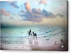 El Chapuzon Acrylic Print by Alfonso Garcia