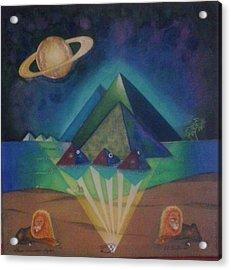 El De Grande Acrylic Print by Steven Taylor