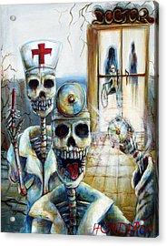 El Doctor Acrylic Print by Heather Calderon