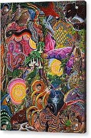 El Encanto De Las Piedras Acrylic Print