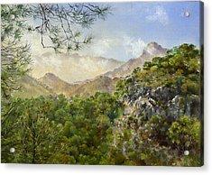 El Fuerte Acrylic Print by Margaret Merry