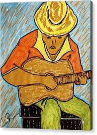 El Jibarito Acrylic Print by Chrissy  Pena