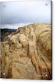 El Malpais Sand Bluff 3 Acrylic Print