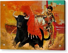 El Matador Acrylic Print by Corporate Art Task Force