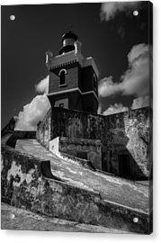 El Morro 001 Acrylic Print by Lance Vaughn