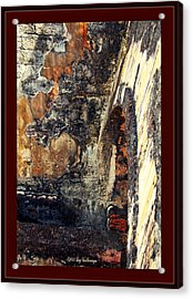 El Morro Arch With Border Acrylic Print