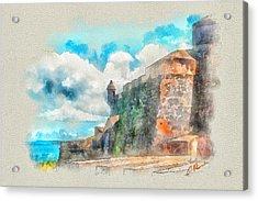 El Morro Castle.. Acrylic Print