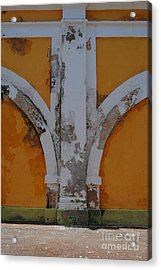 El Morro Deep Yellow Arch Acrylic Print