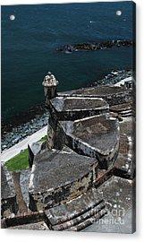 El Morro From Above Acrylic Print