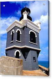 El Morro Lighthouse Acrylic Print by Carey Chen