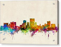El Paso Texas Skyline Acrylic Print