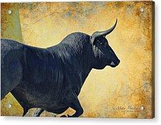 El Toro  Acrylic Print by Mary Machare