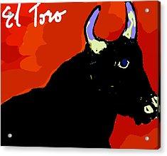El Toro Acrylic Print