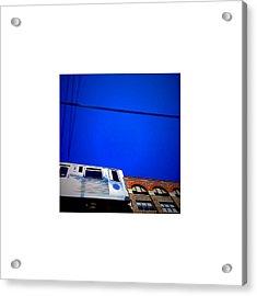 El Train_07.11.12 Acrylic Print by Paul Hasara