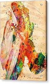 El Violin  Acrylic Print by Mark Ashkenazi