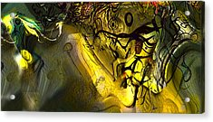 Acrylic Print featuring the digital art Elaboration Of Day Into Dream by Richard Thomas