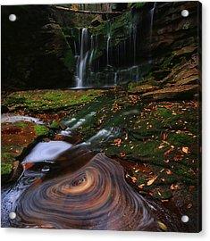 Acrylic Print featuring the photograph Elakala Falls by Jaki Miller