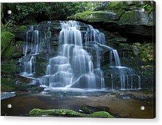 Elakala Falls Number 2 Acrylic Print by Shelly Gunderson
