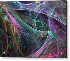 Elasticity-01 Acrylic Print by RochVanh