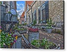 Elburg Alley Acrylic Print