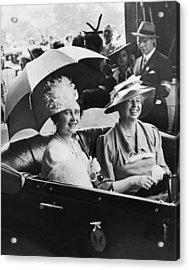 Eleanor Roosevelt & The Queen Acrylic Print