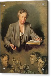 Eleanor Roosevelt, First Lady Acrylic Print by Science Source
