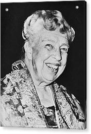 Eleanor Roosevelt Acrylic Print