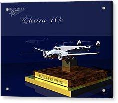 Acrylic Print featuring the digital art Electra 10e by John Pangia