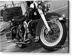 Electra Glide Classic Acrylic Print