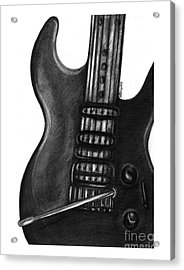 Electric Guitar Acrylic Print