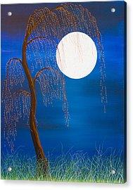 Electric Moonlight Acrylic Print