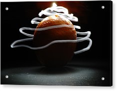 Acrylic Print featuring the photograph Electric Orange by Michael Donahue