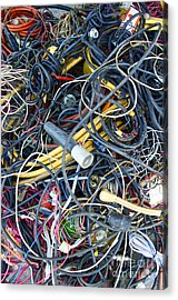 Electrical Cord Picking Acrylic Print