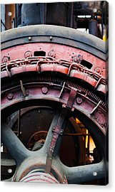 Electrical Power Room At Puits Couriot Acrylic Print by Panoramic Images