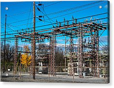 Electricity Station Acrylic Print
