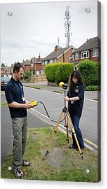 Electromagnetic Radiation Monitoring Acrylic Print by Public Health England