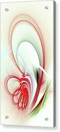 Elegance Acrylic Print by Anastasiya Malakhova