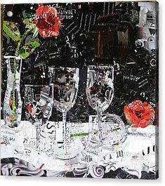 Elegance Is An Attitude Acrylic Print by Suzy Pal Powell