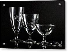 Elegant Crystals Acrylic Print