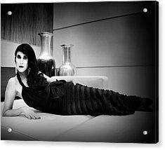 Elegant Seduction Film Noir Acrylic Print