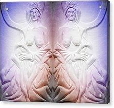 The Bathing Beauties Acrylic Print